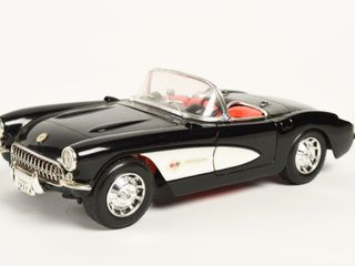 1957 MAJORETTE CORVETTE COVERTIBlE   NO BOX