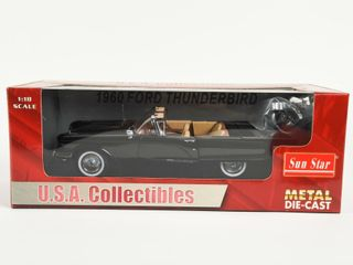 1960 FORD THUNDERBIRD CONVERTIBlE REPlICA   BOX