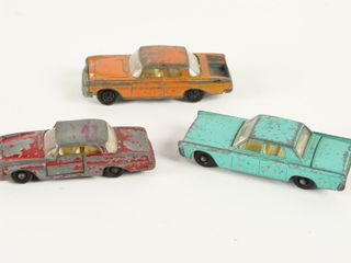 MATCHBOX CAR TRANSPORTER   3 MATCHBOX CARS