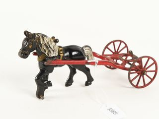KENTON CAST IRON HORSE DRAWN FRONT HITCH