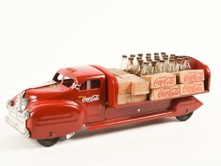 lINCOlN TOYS DRINK COCA COlA DElIVERY TRUCK