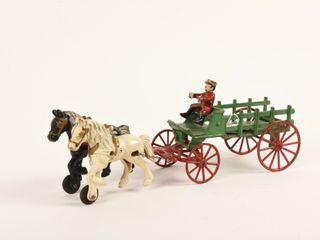 KENTON HORSE DRAWN BUCK WAGON