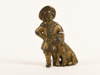 1920 S CANADIAN BEAVERTON CAST IRON BUSTER BROWN
