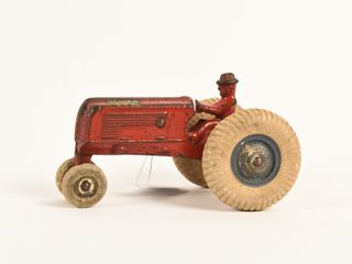 RARE ARCADE OlIVER ROW CROP CAST IRON TRACTOR