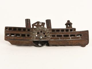 1920 S CANADIAN BEAVERTON CAST IRON RIVER BOAT