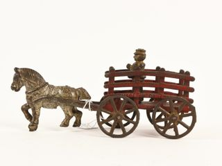 1920 S CANADIAN BEAVERTON CAST IRON WAGON