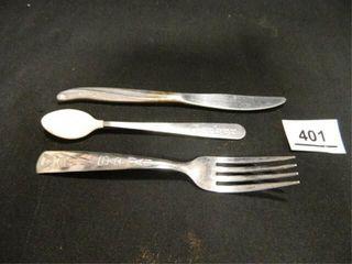 Batman Fork  TWA Knife  Gerber