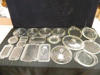 FireKing  Pyrex  Glass lids   20