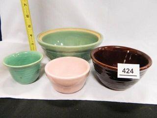 Vintage Bowls  limoges Canister