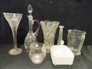 Crystal Decanter Romania  Vases