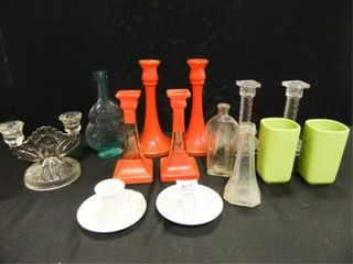 Glass Candle Holders  Assorted