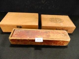 Michelin Box  Cigar Boxes  Vintage