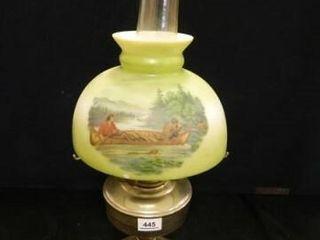 Aladdin Kerosene lamp w Shade
