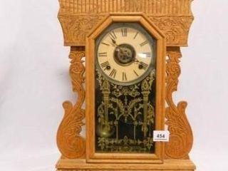 Antique Kitchen Clock  w keys