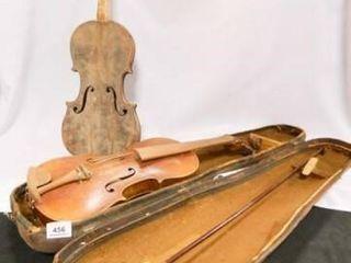 Violins 2  Bow  Case  Vintage
