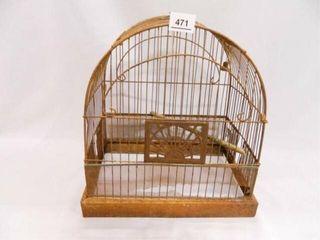 Bird Cage Metal  No Bottom