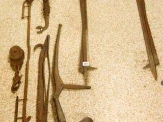 Cast Iron Tools  Assortment  Rake