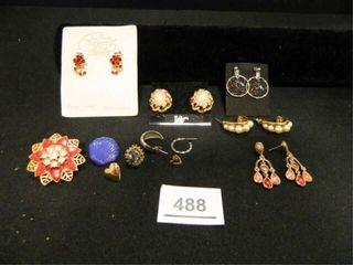 Pierced Earrings  5 Sets