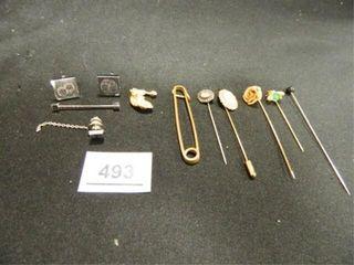 Stick Pins 4  Hat Pin  Cuff links