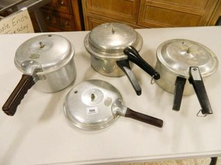 Pressure Cookers Assorted  3