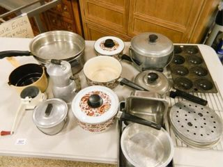 Pots   Pans  Assorted