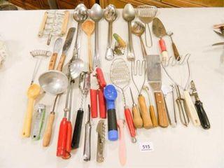 Kitchen Utensils  Some Vintage