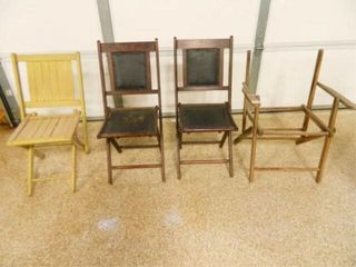 Vintage Folding Chairs 2