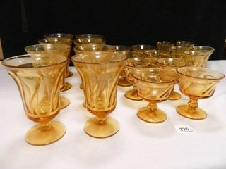 Amber Glassware   21