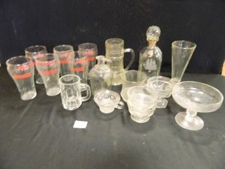 Glass Assortment  Coca Cola 5