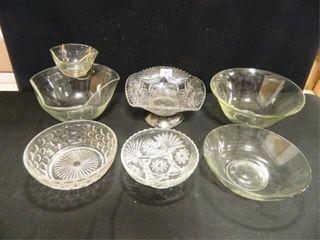 Glass Bowl Assortment   6