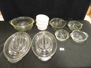Glass Bowls Fireking   Pyrex