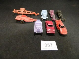 Vintage Tootsie Toy Miniature Cars