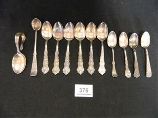 Sugar Spoons  Mostly Silverplate