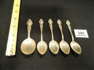 Sterling Silver Spoons 5