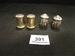 Sterling Silver S   P Shakers 1 set