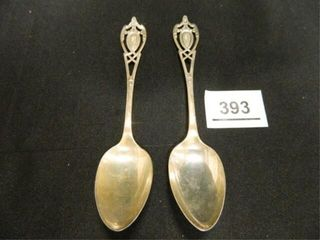Sterling Silver Spoons   2