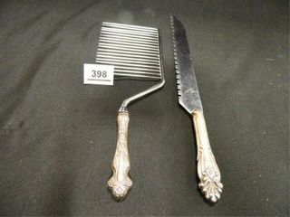 Sterling Silver Knife   Cake Cutter