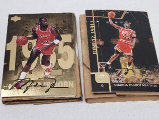 1998 Upper Deck Michael Jordan Complete 12 Card Basketball Set Gatorade Mail in Exclusive w  Bonus