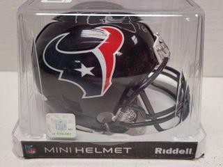 Keke Coutee Autographed Houston Texans Mini Helmet w  COA