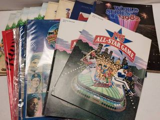 World Series   All Star Game Official MlB Program lot of 15