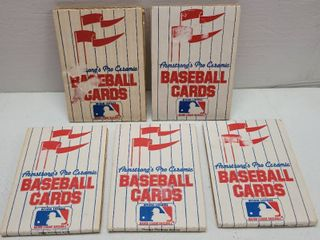 1985 Armstrong s Pro Ceramic Baseball Cards lot of 5 w  George Brett