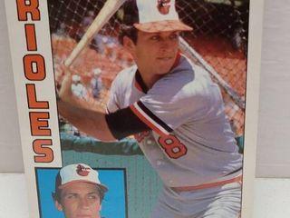 1984 Topps Jumbo 5  x 7  Baseball Complete 30 Card Set