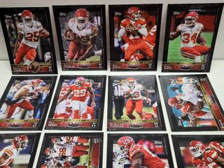 2015 Topps Football Kansas City Chiefs 5  x 7  Jumbo 12 Card Team Set limited Edition