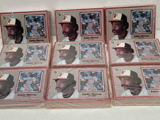 1983 Donruss Baseball Jumbo 60 Card Set lot of 6 w  George Brett   Nolan Ryan