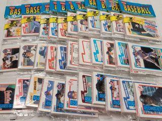 1990 Fleer Baseball Cards Unopened Rack Packs lot of 10