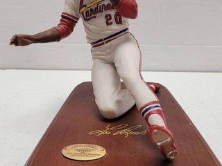 lou Brock St  louis Cardinals limited Edition Danbury Mint Figure