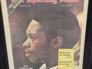 Nate Archibald 1973 Sporting News NBA Player of the Year Kansas City Kings