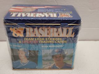 1987 Fleer Update Glossy Baseball Complete 132 Card Set limited Edition