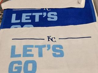 2014   2015 Kansas City Royals Playoff   World Series Stadium Rally Towels lot of 5