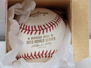 2013 Rawlings Official World Series Baseball Cardinals vs  Red Sox